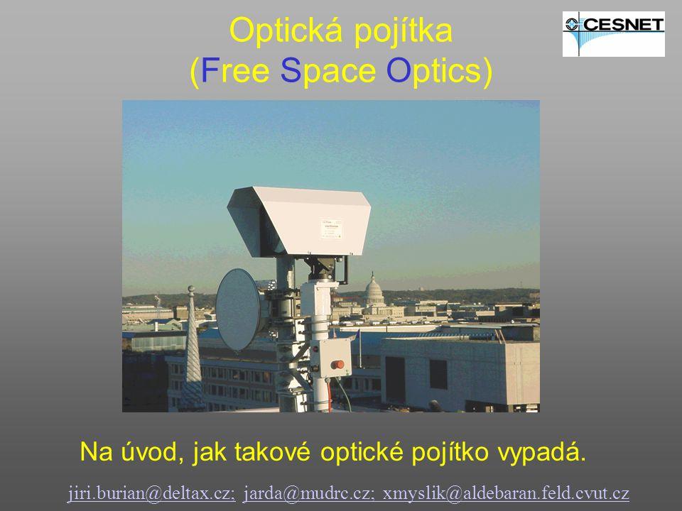 Optická pojítka (Free Space Optics)