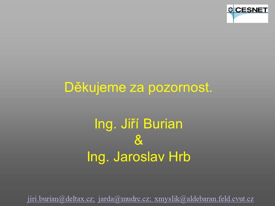 Ing. Jiří Burian & Ing. Jaroslav Hrb