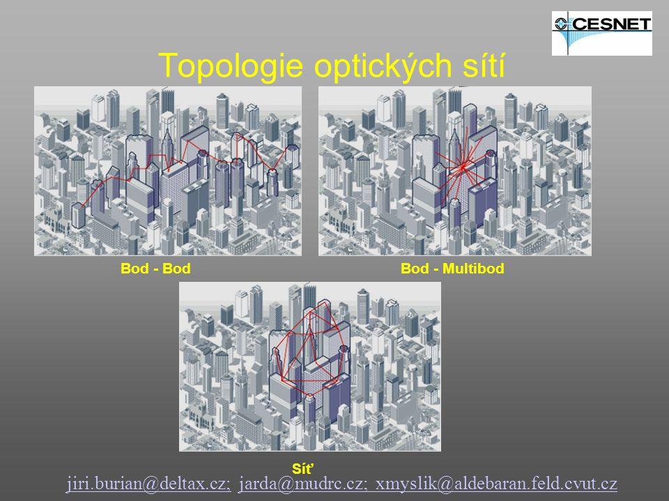 Topologie optických sítí
