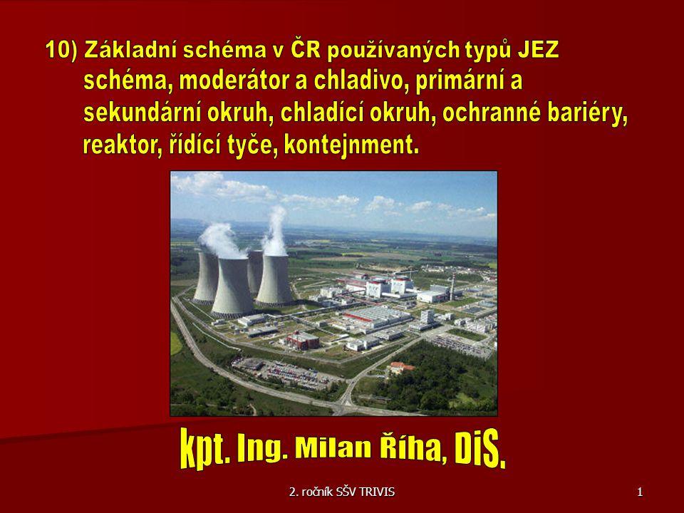 10) Základní schéma v ČR používaných typů JEZ