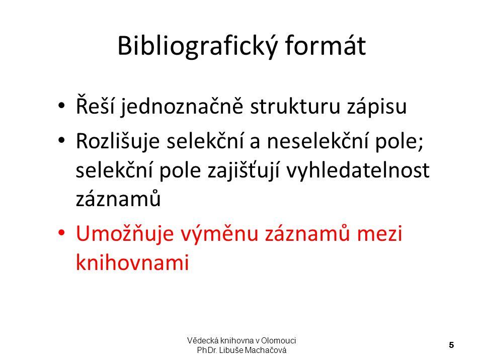 Bibliografický formát