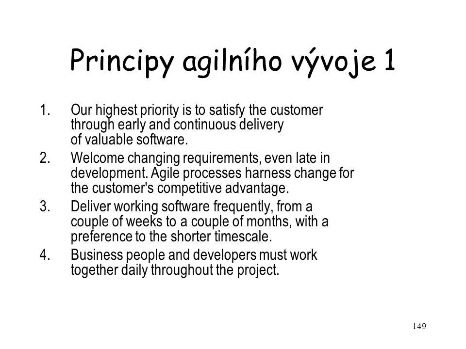 Principy agilního vývoje 1
