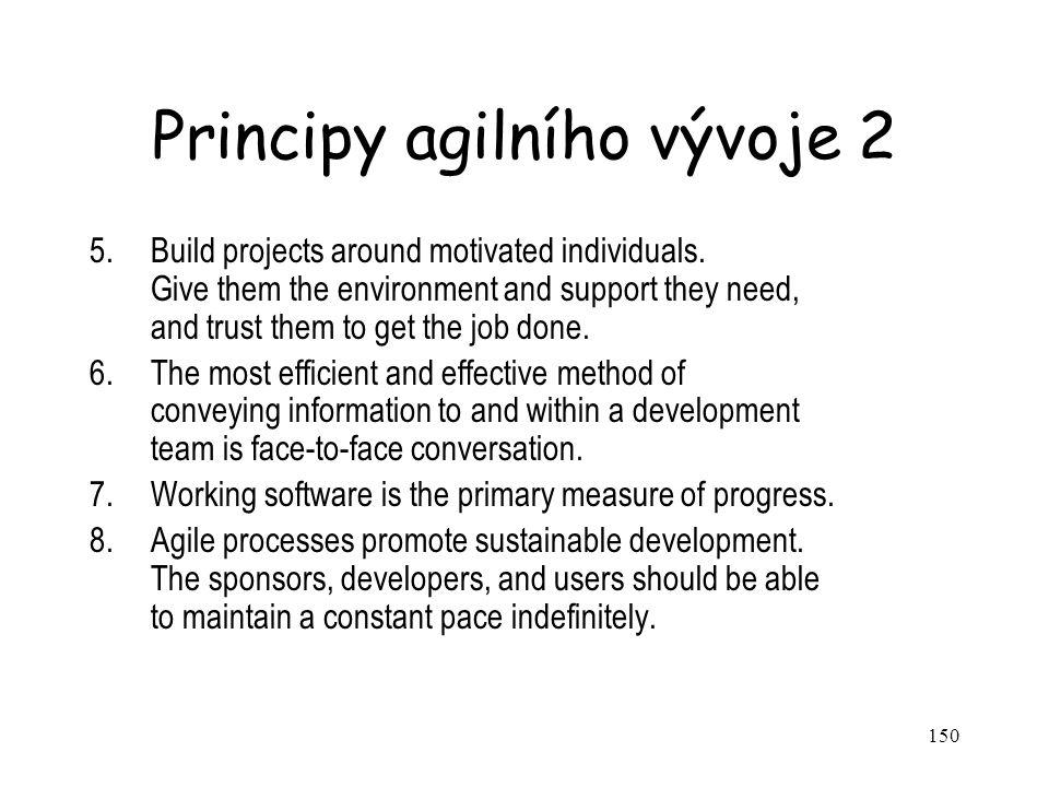 Principy agilního vývoje 2