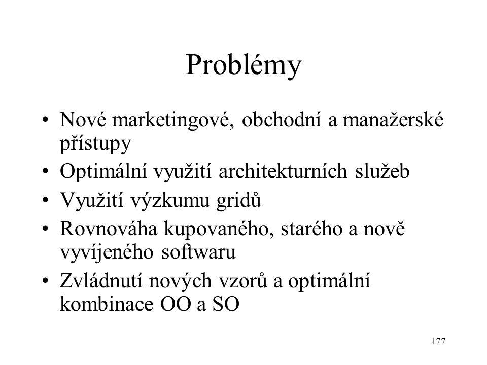 Problémy Nové marketingové, obchodní a manažerské přístupy