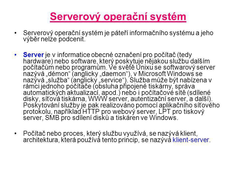 Serverový operační systém