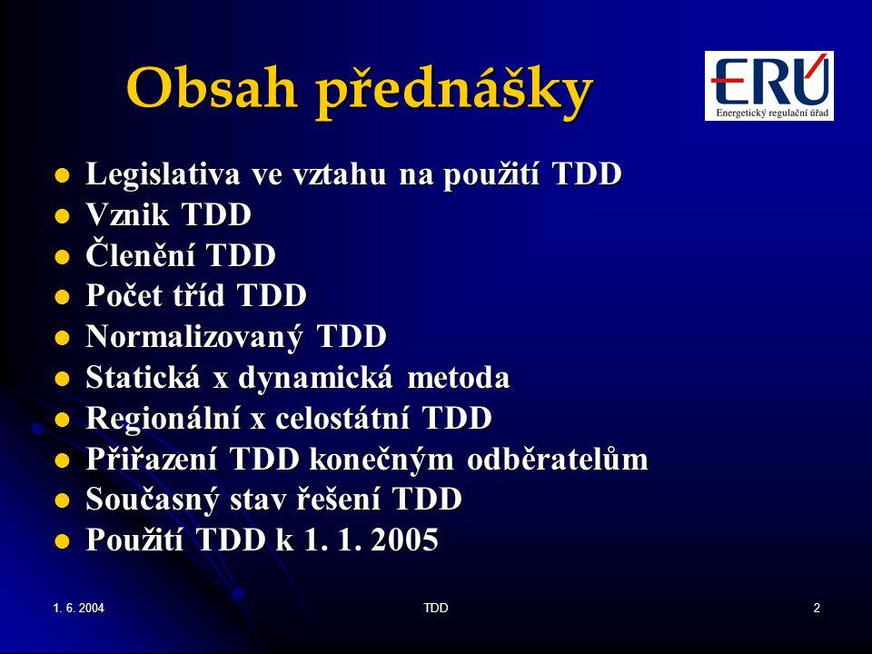 Obsah přednášky Legislativa ve vztahu na použití TDD Vznik TDD
