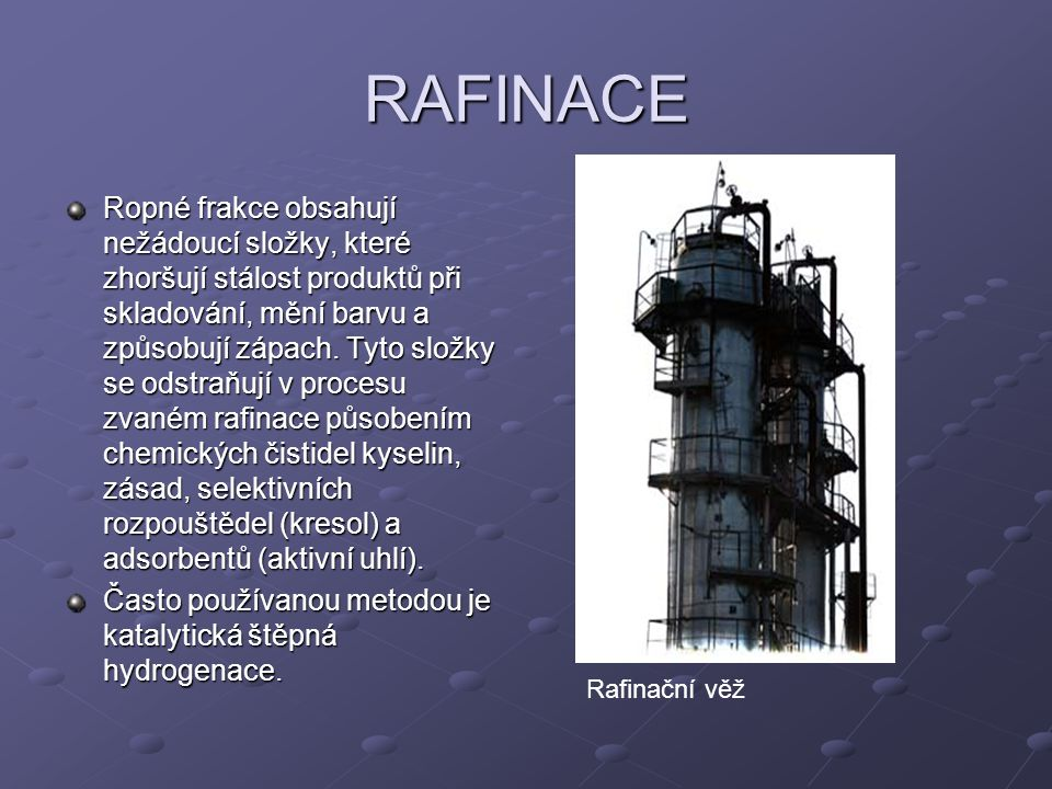 RAFINACE