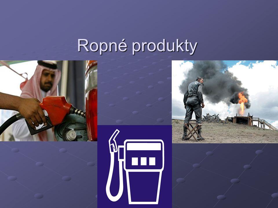 Ropné produkty