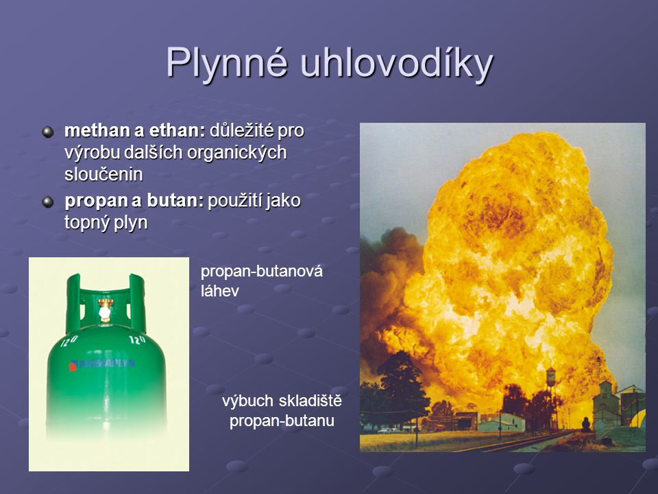výbuch skladiště propan-butanu