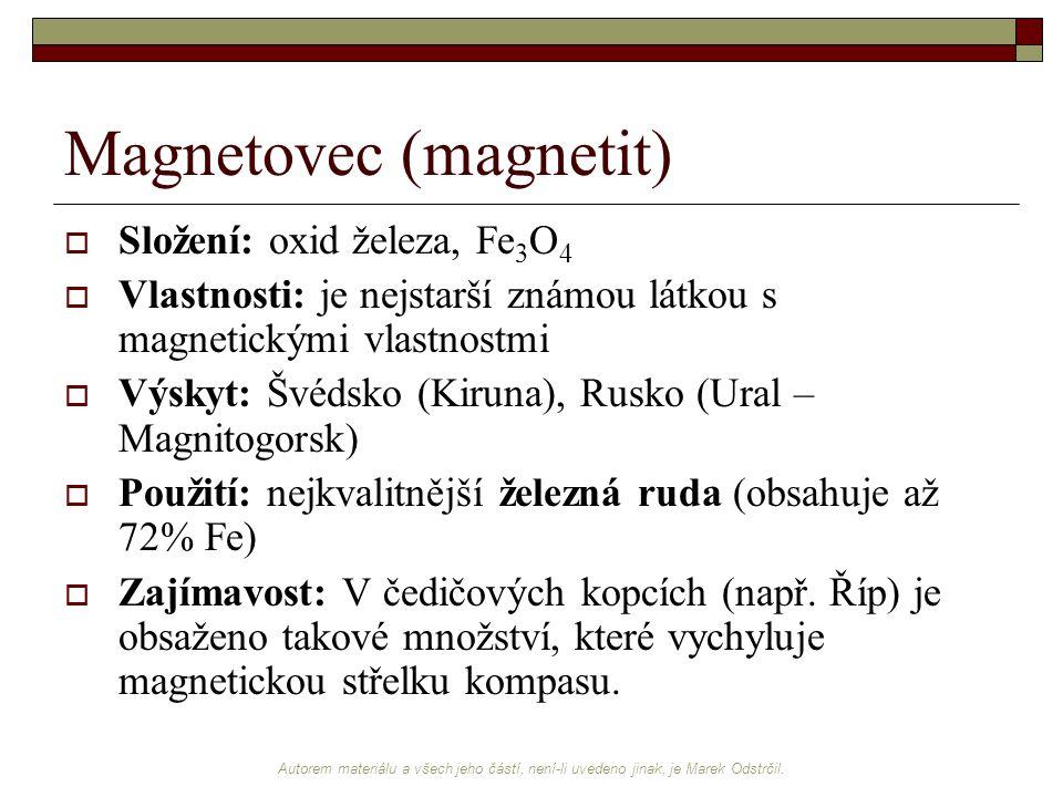 Magnetovec (magnetit)