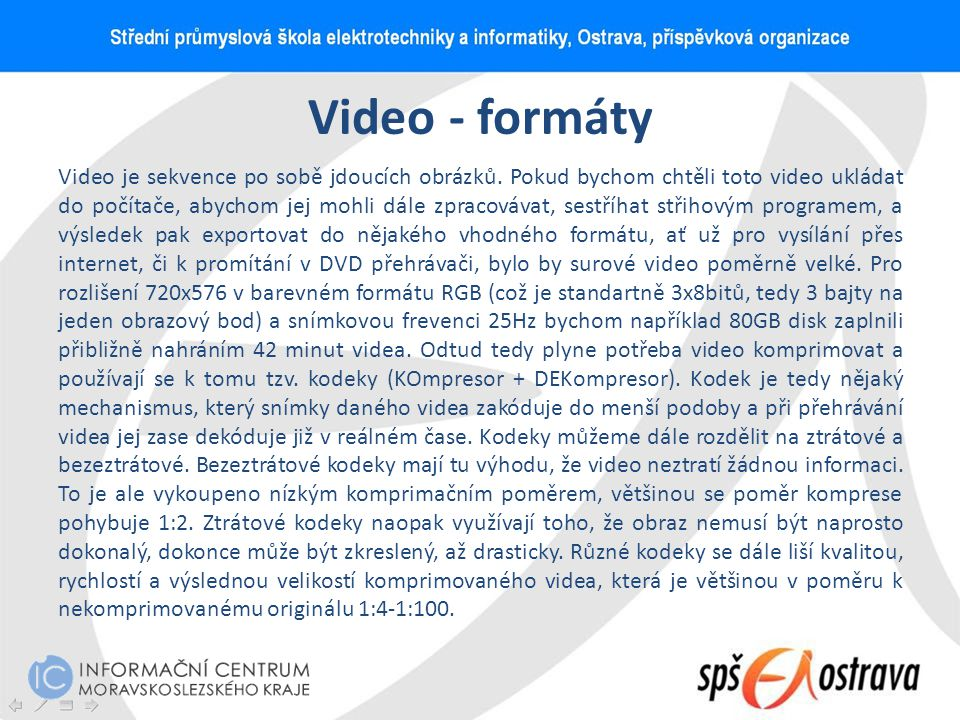 Video - formáty