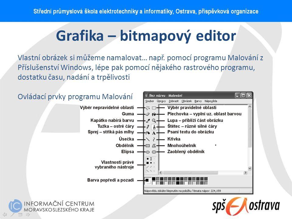 Grafika – bitmapový editor