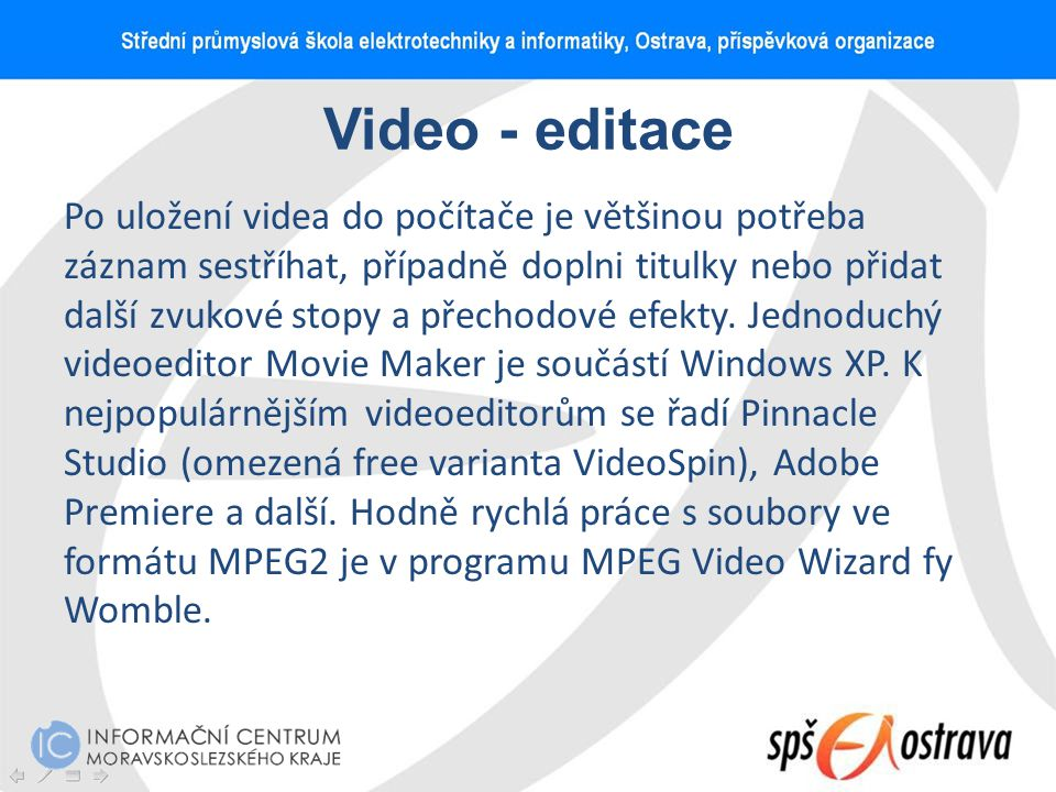 Video - editace