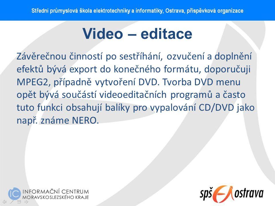 Video – editace
