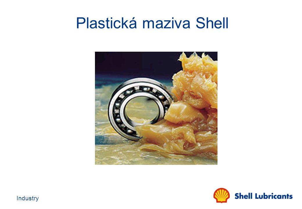 Plastická maziva Shell