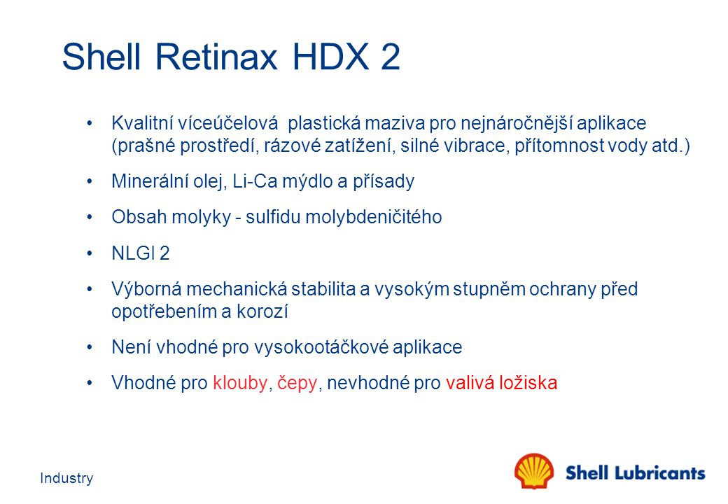 Shell Retinax HDX 2