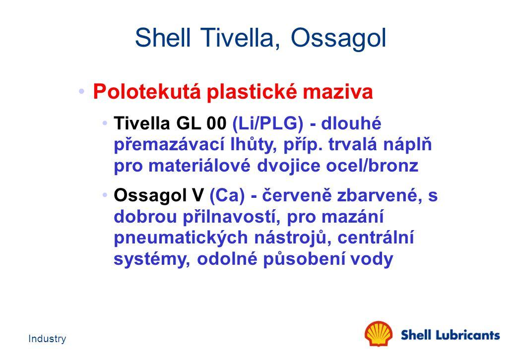 Shell Tivella, Ossagol Polotekutá plastické maziva
