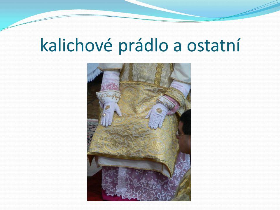 kalichové prádlo a ostatní