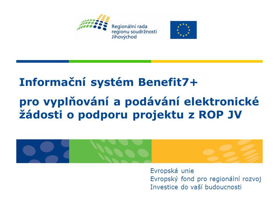 Informační systém Benefit7+