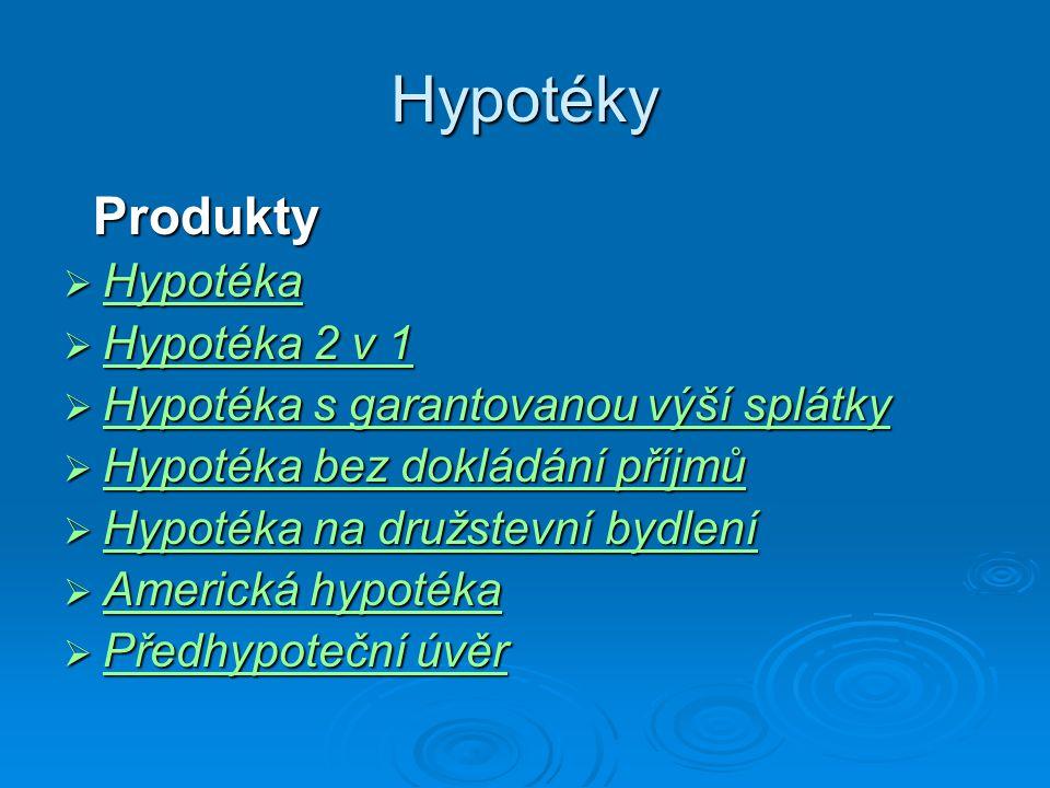 Hypotéky Produkty Hypotéka Hypotéka 2 v 1