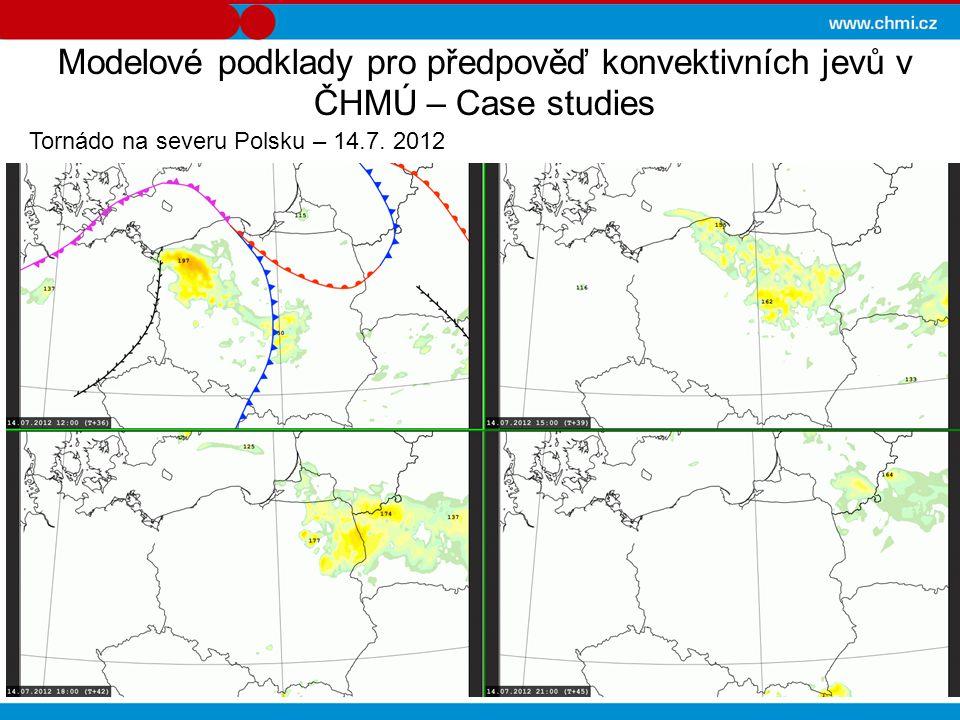 Modelové podklady pro předpověď konvektivních jevů v ČHMÚ – Case studies