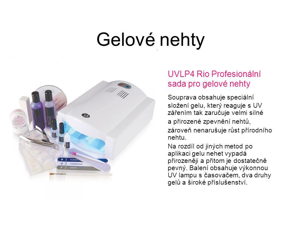 Gelové nehty UVLP4 Rio Profesionální sada pro gelové nehty