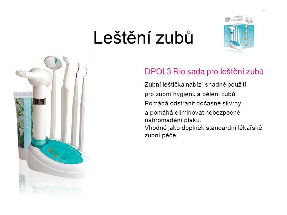 Leštění zubů DPOL3 Rio sada pro leštění zubů