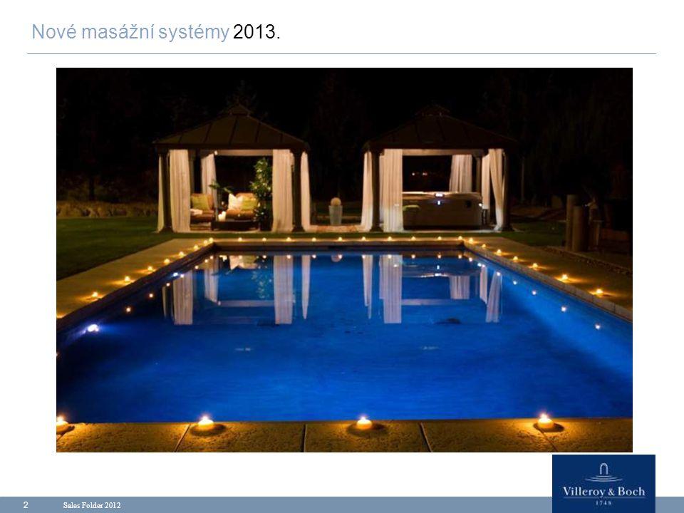 Nové masážní systémy 2013. Sales Folder 2012