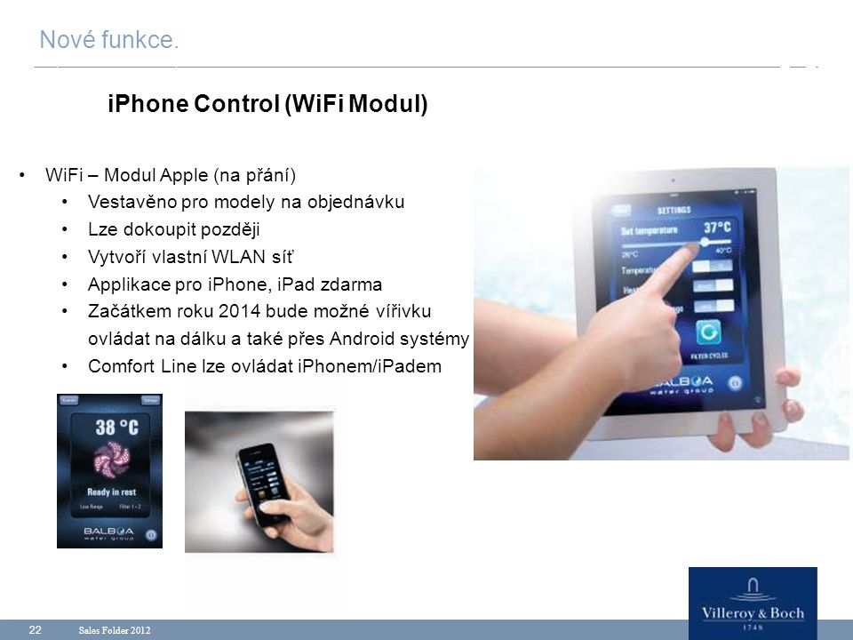 iPhone Control (WiFi Modul)