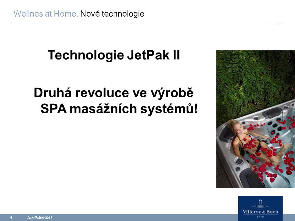 Druhá revoluce ve výrobě SPA masážních systémů!