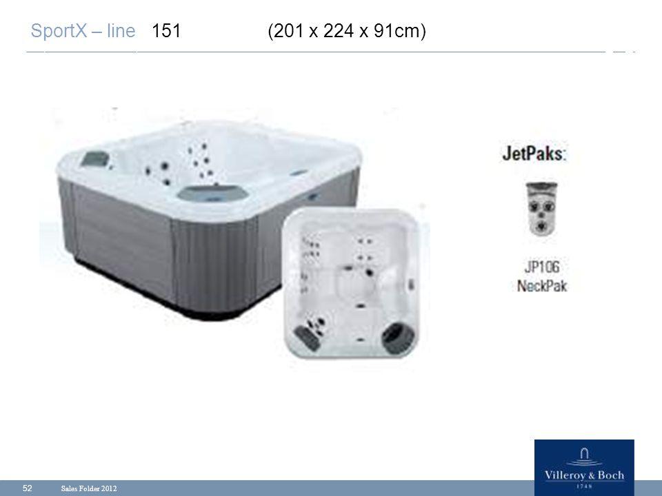 SportX – line 151 (201 x 224 x 91cm) Sales Folder 2012