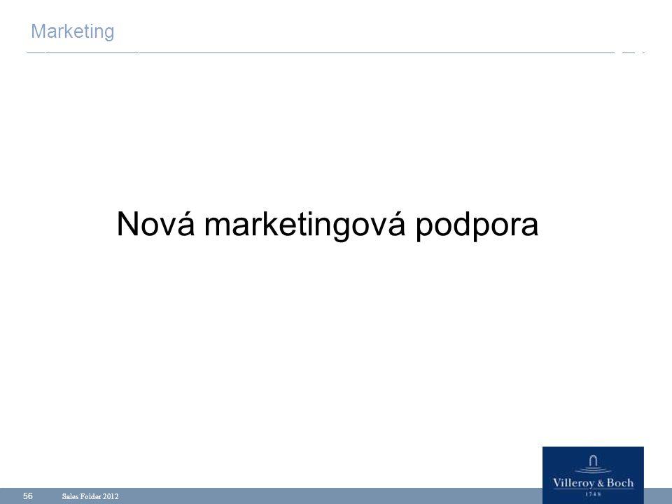 Nová marketingová podpora
