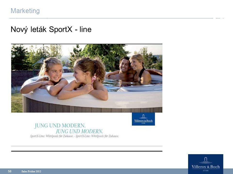 Nový leták SportX - line