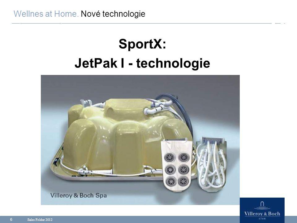 SportX: JetPak I - technologie