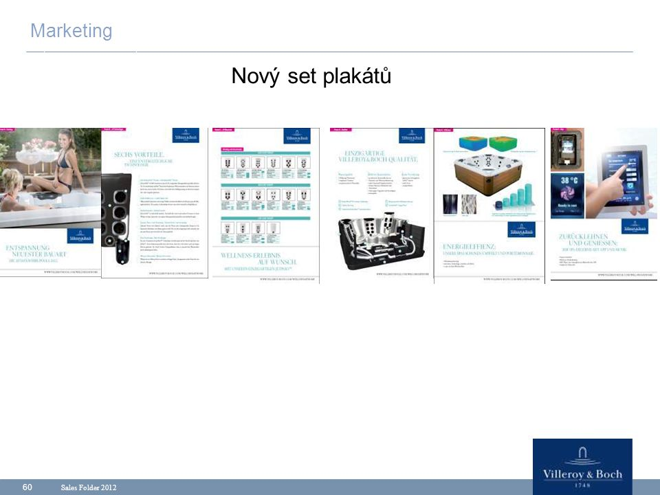 Marketing Nový set plakátů Sales Folder 2012
