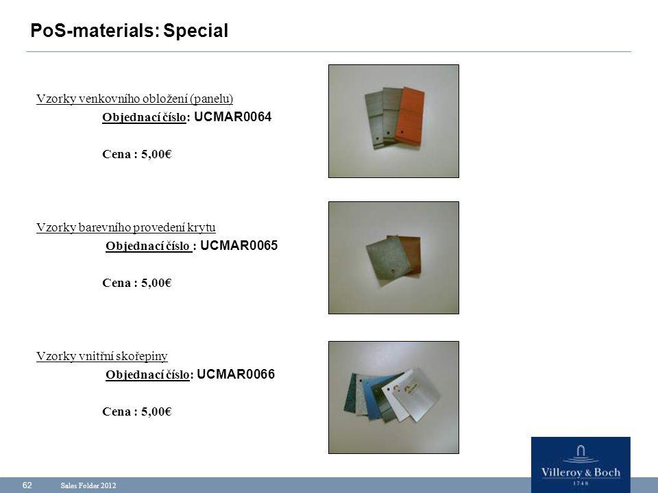 PoS-materials: Special