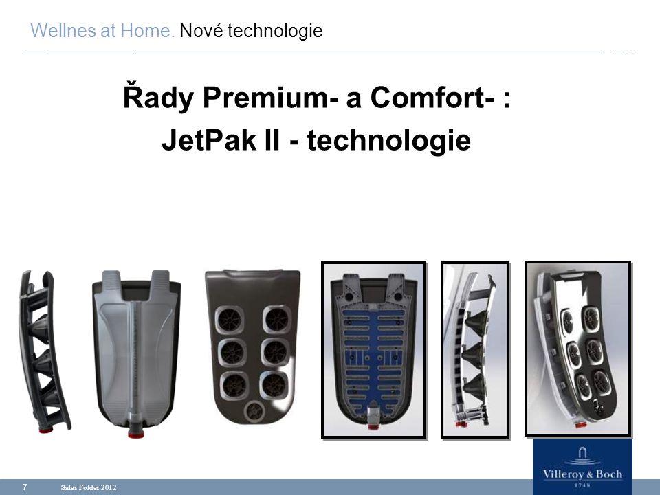 Řady Premium- a Comfort- : JetPak II - technologie