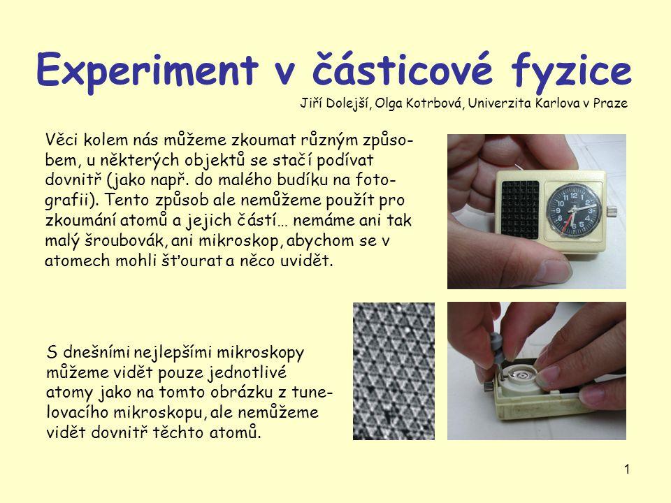 Experiment v částicové fyzice