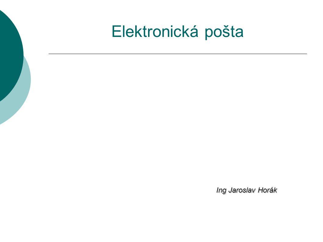 Elektronická pošta Ing Jaroslav Horák