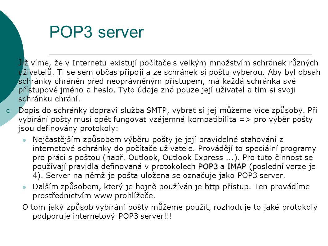 POP3 server