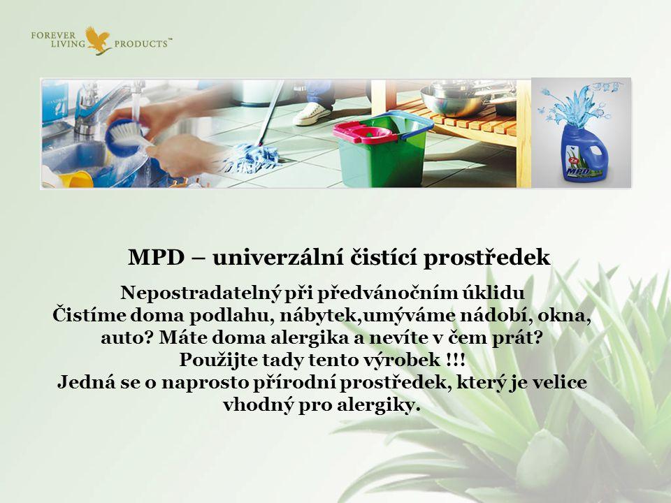MPD – univerzální čistící prostředek
