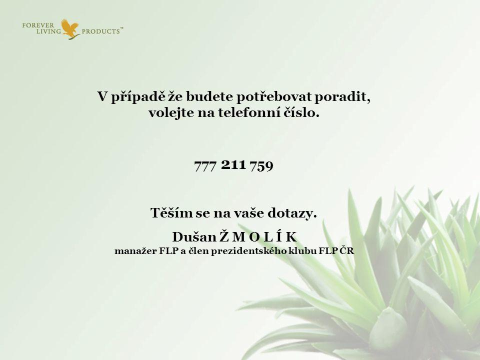 V případě že budete potřebovat poradit, volejte na telefonní číslo.