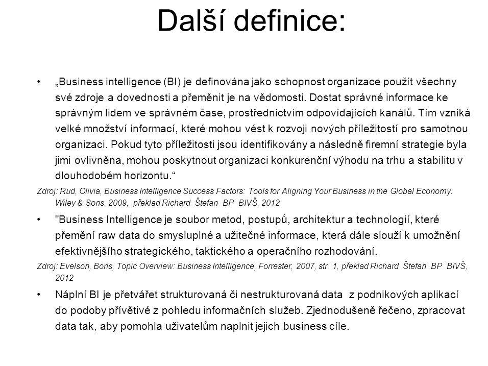 Další definice:
