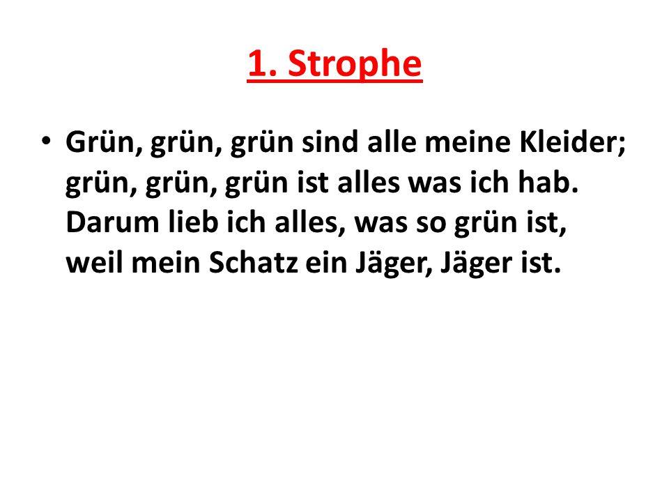 1. Strophe