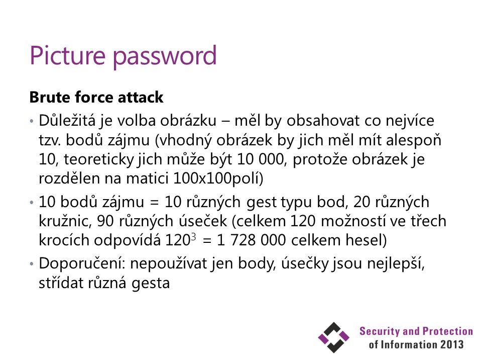 Picture password Brute force attack