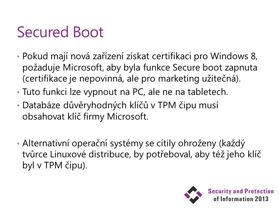 Secured Boot