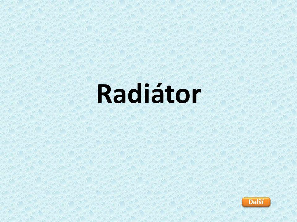 Radiátor Další