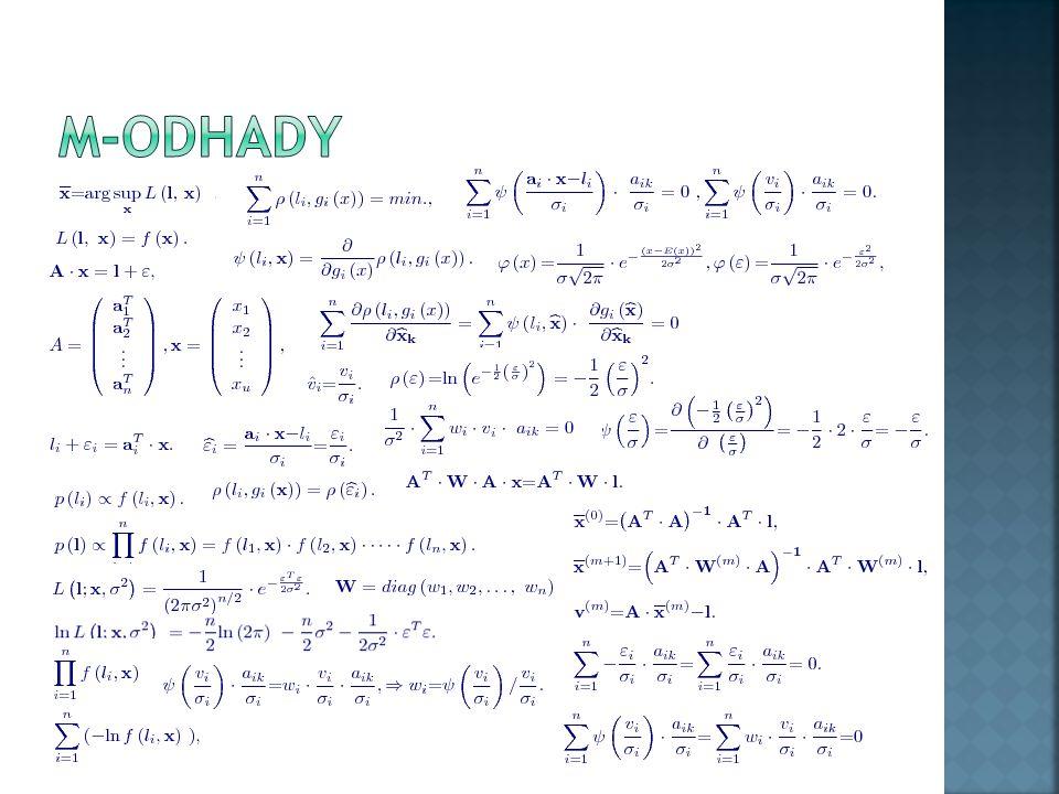 M-odhady