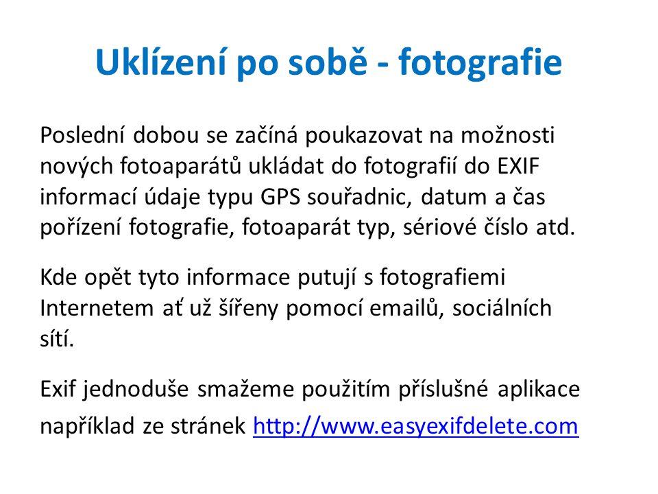 Uklízení po sobě - fotografie