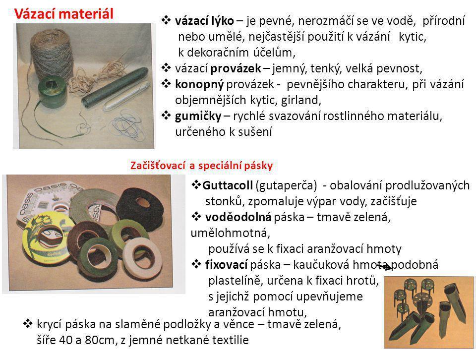 Vázací materiál vázací lýko – je pevné, nerozmáčí se ve vodě, přírodní